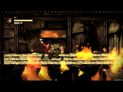 Shank 2 Walkthrough Level 2: Through the Flames [Commentary][HD]