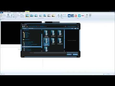 Windows Movie Maker - Making Title Sequence 2