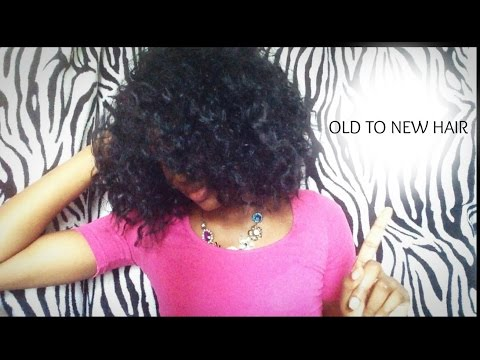 How To Detangle Curly Synthetic Weave/Wigs