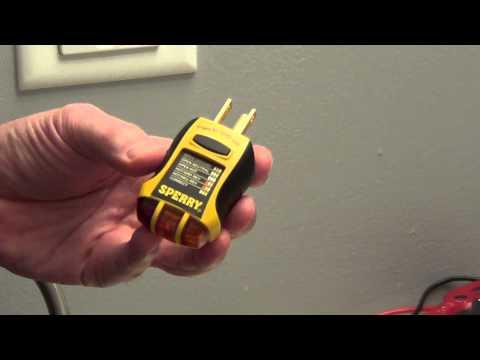Outlet Tester - GFCI Tester
