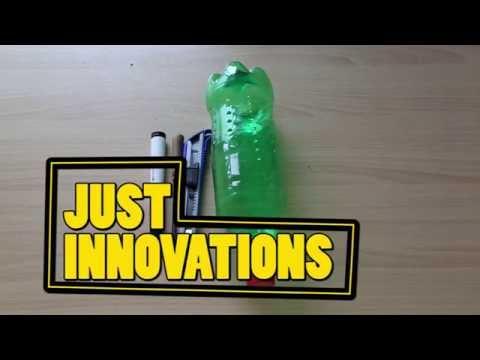 DIY Creative Ways - How to Make Plastic Bottle Pencil Holder (DIY)