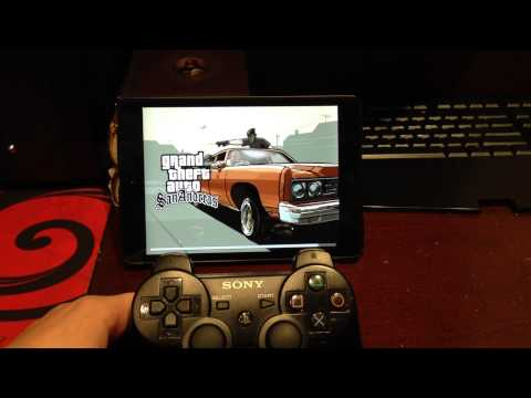 PS3 Controller on iPad Mini