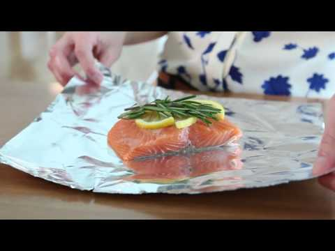 Healthy eating made easy:   Lemon pepper salmon and tilapia |  Mercy Health