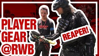 Download Paintball Player Gear Bags w/ Reaper @ Lone Wolf Paintball Red, White & Blue Game Video