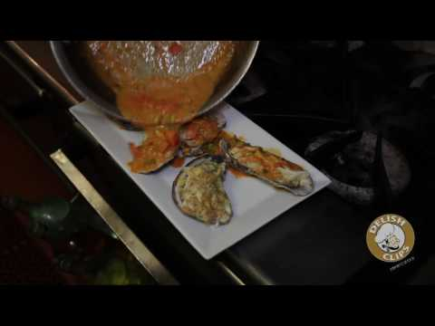 Enza Helwani  Nicolas  Oysters Champagne
