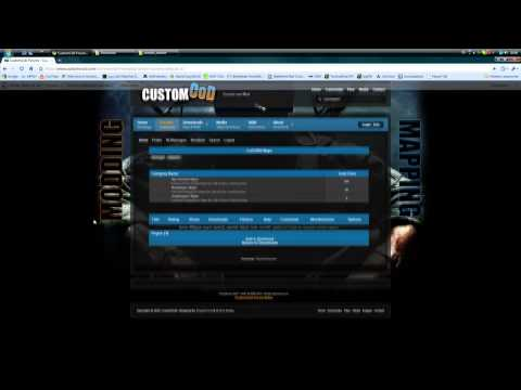 How to install Custom Maps for Realism mod in Call of Duty 5  HD