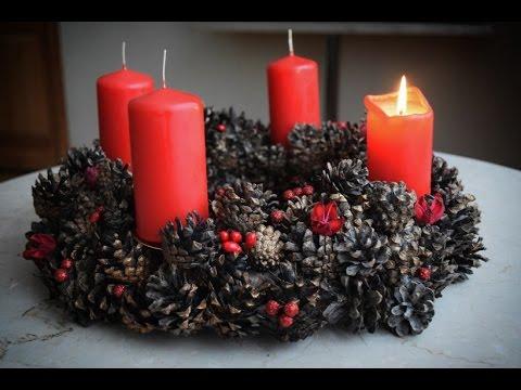 My advent wreath DIY