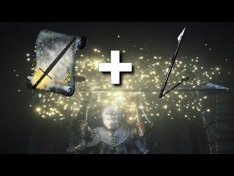 Dark Souls 3 : Hidden Weapon + Follower's Javelin Combo!