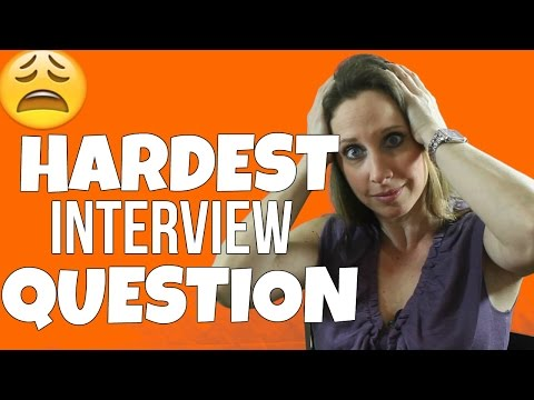 HOW TO ANSWER THE HARDEST INTERVIEW QUESTION | Debra Wheatman