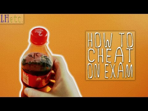 How to Cheat on Exam