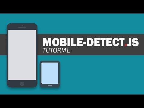 Mobile-detect.js Tutorial - Detect Mobile Device with Javascript