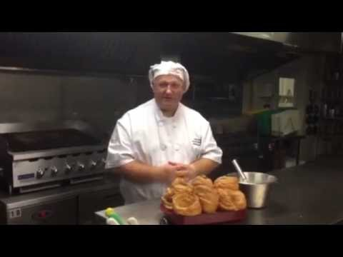 Chef Sarge says the secret to cooking proper Yorkshire puddings is air and patience