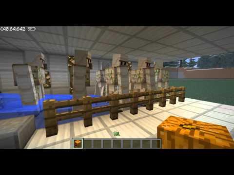 Minecraft AUTOMATIC Iron Golem Factory