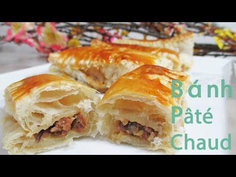 French Inspired Snack : Pâté Chaud  Cách Làm Bánh Patê Sô  越式酥皮肉餅的做法