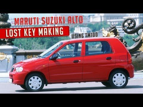 Maruti Suzuki Alto Lost Key Making using TM100 | ID 65 Chip | EEPROM Programmer