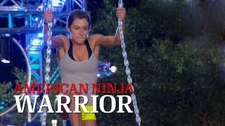 Kacy Catanzaro at the 2014 Dallas Qualifiers | American Ninja Warrior