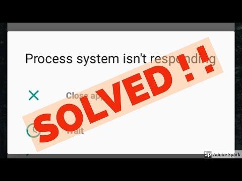 Fix Process system isn't responding Error in Nokia 3/Nokia 5/Nokia 6