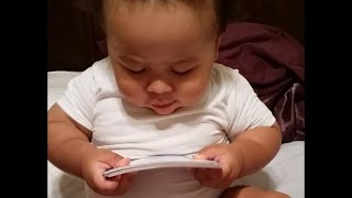 Super Smart Baby Can Already Read