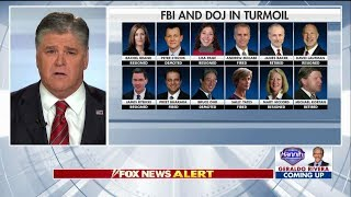 Hannity Rips Peter Strzok After Being Escorted Out of FBI