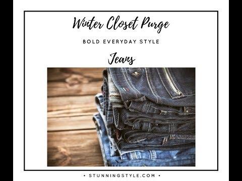 Winter Closet Purge Part 7 - Jeans