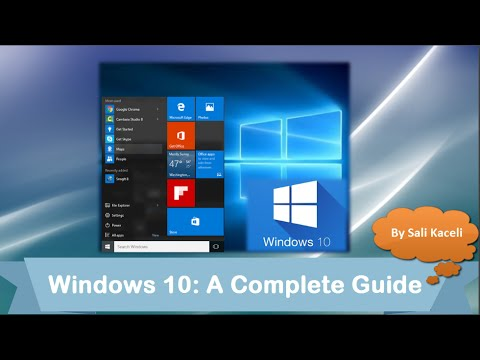 Windows 10 Tutorial: A Beginner's Comprehensive Guide of the New Windows 10 Features