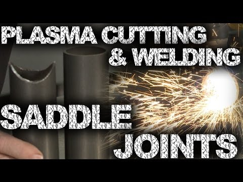 Plasma Cutting and Welding Saddle Joints | TIG Time