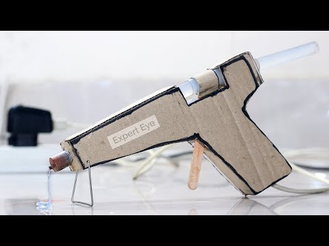 How to make Amazing DIY Hot Glue from Cardboard ! Glue Gun at Home