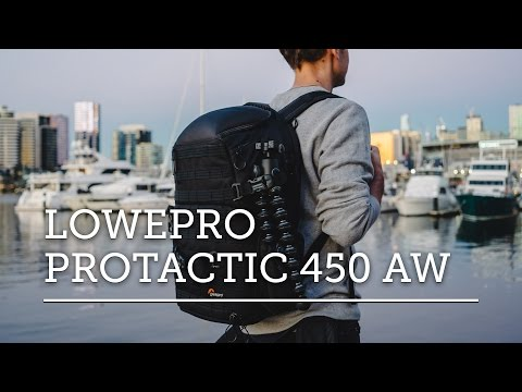 THE BEST CAMERA BAG? — LOWEPRO PROTACTIC 450 AW REVIEW