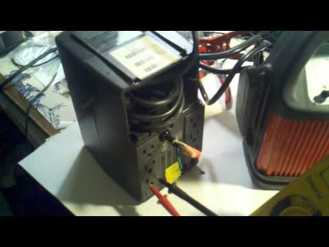 DIY Inverter made from a computer backup power supply