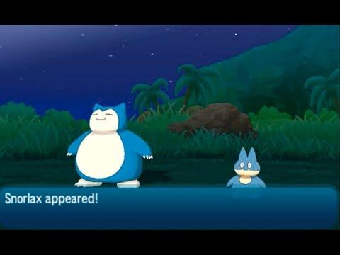 How to Catch Snorlax - Pokémon (Ultra) Sun & Moon