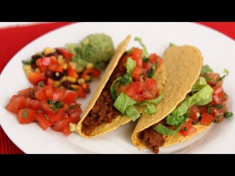 American Ground Beef Tacos Recipe - Laura Vitale - Laura in the Kitchen Episode 571