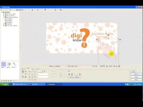 How to Add water mark to an Image in Photoscape