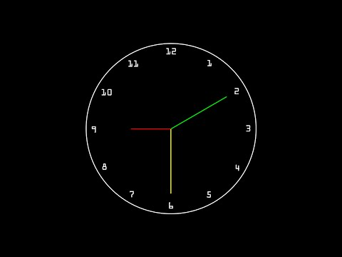 C/C++ Graphics Tutorial 26 | Analog Clock Part 1