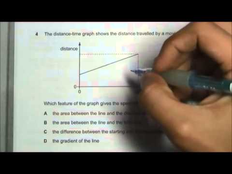 2013 O' Level Physics 5058 Paper 1 Solution Qn 1 to 5