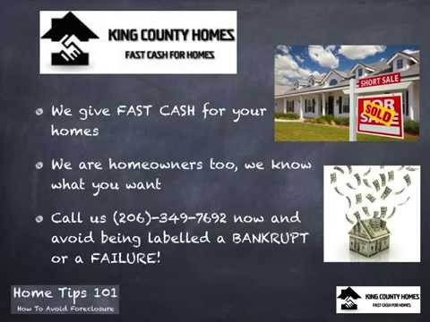 Stop Foreclosure King County | 206-349-7692 | Sell My King County House Fast | Prevention | WA