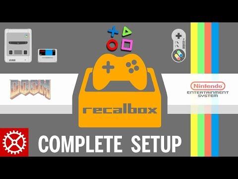 Complete Recalbox Raspberry Pi 3 Setup Tutorial - ROMS, SSH, UPDATES and KODI