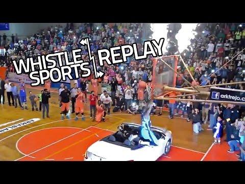 World's Longest Dunk Record | Wannabe Blake Griffin Car Dunk FAIL!