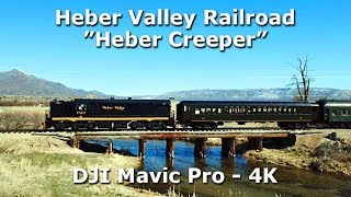 The Heber Creeper - Drone Footage - March 2018