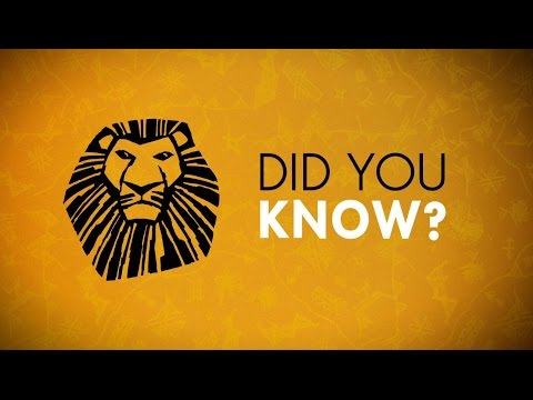 THE LION KING: Incredible Facts You Probably Didn't Know About The Show
