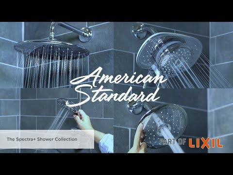 Introducing the Spectra+ Shower Collection by American Standard
