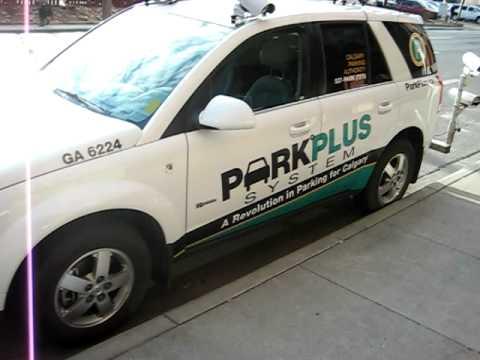 Calgary Parking Authority vehicle