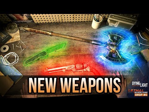 NEW GLOWING WEAPONS! | Everything You Need To Know | (Dying