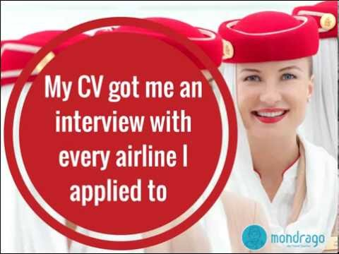 Cabin Crew Job Interview Tips - My CV Got Me An Interview with EVERY airline I applied to