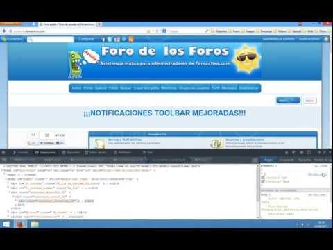 ForoActivo: Diseño Toolbar FAT-Css-v1