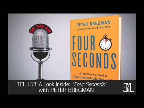 Four Seconds by Peter Bregman TEL 158