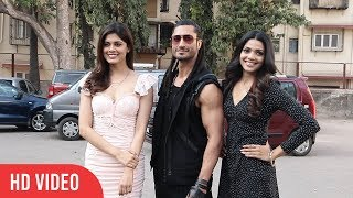 Vidyut Jammwal, Pooja Sawant, Asha Bhat Spotted | Junglee Movie Promotion