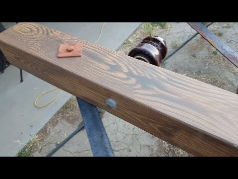 Fiberglassing With Epoxy - Faux Wood Grain Painting