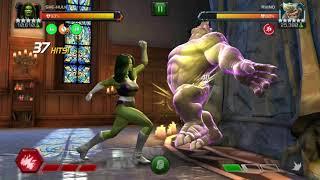 6.1.4 Aspect of War Rhino vs R4 5 * She Hulk