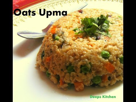 Oats upma - Quick and easy weight loss recipe