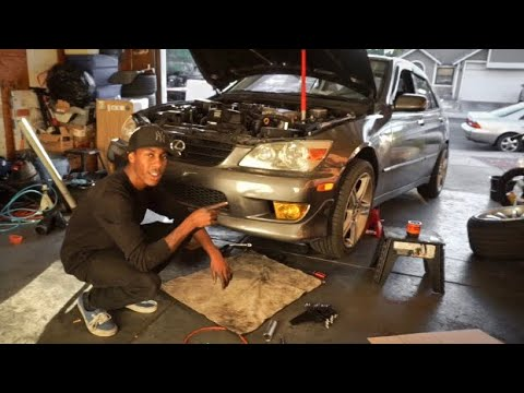 Is300 oil pan removal / gasket replacement